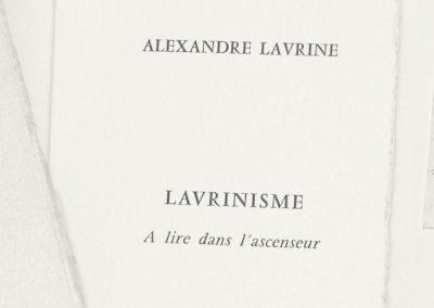 LAVRINISME