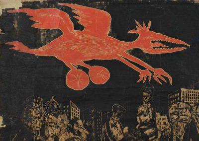 SANS TITRE «dragon rouge»